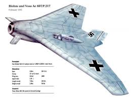 voss bmw the blohm voss p217 was an flying wing fighter project powered