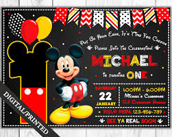 mickey mouse clubhouse birthday invites mickey mouse invitation mickey mouse birthday invitation