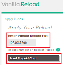 reload prepaid card online with credit card how to use vanilla reload cards to load your bluebird card