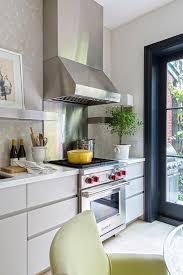 custom cut stainless steel backsplash stainless steel backsplash with shelf design ideas