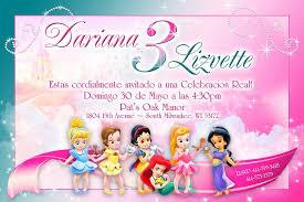disney princess birthday invitations wblqual com
