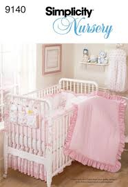 Crib Bedding Pattern Simplicity Sewing Pattern 9140 Home Decorating One