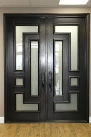 front doors entrance casa ml gantous arquitectos wooden main