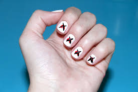 how to make an anti valentine u0027s day nail design with pictures
