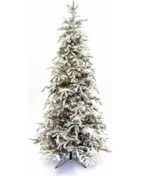 spectacular deal on 9 flocked balsam prelit tree