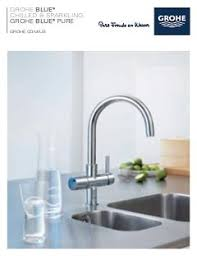 Water Filter Kitchen Faucet Grohe Blue Water Filter Kitchen Faucets Grohe