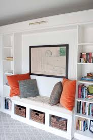 Wall Bookcases With Doors Office Makeover Reveal Ikea Hack Built In Billy Bookcases