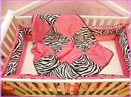 Pink Zebra Crib Bedding Pink Crib Bedding Set Home Design Ideas