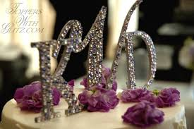 pearl monogram cake topper monogram cake toppers pictures