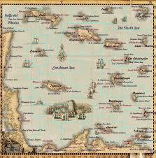 Map Jamaica Steam Community Sea Dogs Map With Region Boundaries