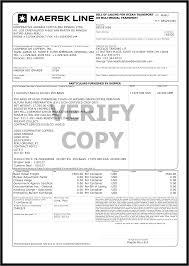 sample of bill lading document report form balance sheet microsoft