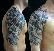 biomechanical tattoos and designs page 168