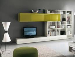 and white tv cabinet