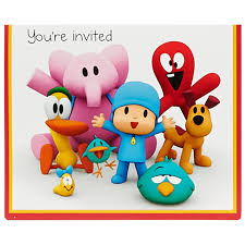 pocoyo cake toppers pocoyo party supplies birthdayexpress