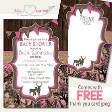 camo baby shower invitations girl s pink camo baby shower invitation digital file
