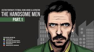 illustrator tutorial vectorize image the handsome men part 1 vector illustrator tutorial youtube
