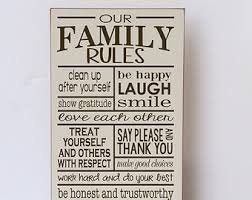 home decor family signs family sign etsy