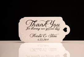 personalized wedding favor tags wedding definition ideas