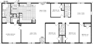 4 Bedroom 2 Bath Mobile Homes Floor Plans Manufactured Homes Modular Homes Mobile Homes