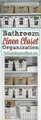 bathroom linen closet organization best bathroom decoration