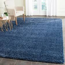 Rugs With Teal Safavieh Santa Monica Shag Navy 8 Ft X 10 Ft Area Rug Sgn725