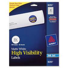 white round high visibility labels walmart com