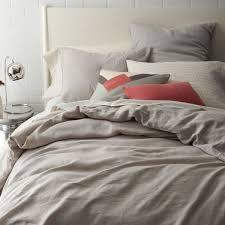 belgian linen quilt cover pillow shams u2013 platinum west elm