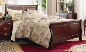 Sleigh Bed King Size Contemporary Solid Wood Sleigh Bed King Size U2014 Vineyard King Bed