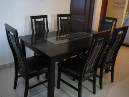 Glass Dining Table For 6 Glass Dining Table 6 Seater Price Gallery Dining Inside Brilliant