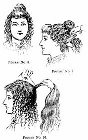 vintage victorian 1890s hairstyle