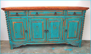 Turquoise Cabinet Great Southwest Dining Set Tables Chairs China Cabinets