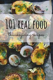 this collection of real food thanksgiving recipes are made from