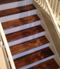 solid birch stair treads for golf home