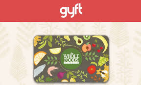 food gift cards sold out buy a 100 whole foods gift card get a 20 bonus card