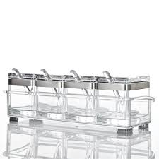 100 clear glass kitchen canister sets featuring a tall