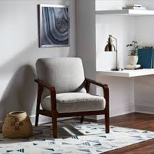 ergonomic reading chair furniture comfy reading chair with table wall and books also