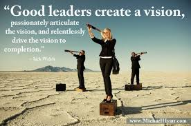 Leadership Meme - good leaders create a vision meme subscribe to my blog