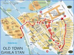 map with attractions cool stockholm map tourist attractions tours maps