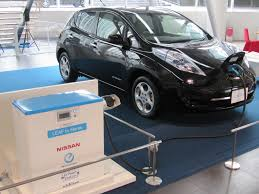 nissan leaf ev range nissan leaf to home electric car power tests more practical for