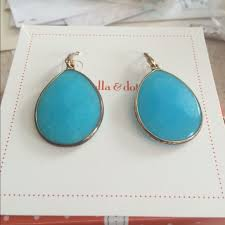 serenity earrings 49 stella dot jewelry serenity turquoise earrings