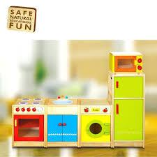 Pretend Kitchen Furniture Wooden Kitchen With Washing Machine Simplesassysultry