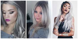 make up tips for salt and pepper hair is granny hair really the 1 hair trend right now the fashion