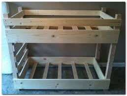 4 Bed Bunk Bed Buy Order U0026 Customize A Crib Size Toddler Bunk Bed By Lil Bunkers