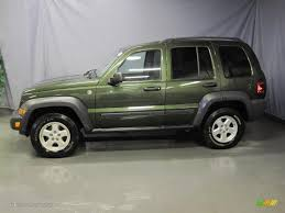 2006 green jeep liberty 2006 jeep green metallic jeep liberty sport 4x4 26355722 photo 2