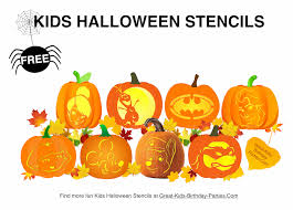 pumpkin stencils fun halloween pumpkin stencils for kids easy