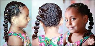 step bu step coil hairstyles pretty side banded ponytail curly mixed hairstyles de su mama