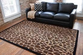 leopard area rug animal print sofa unique image concept loveseat reclinerimal