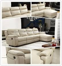 Electric Leather Sofa Living Room Cheers Furniture Electric Leather L Shape Sofa With