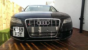 audi rs4 grill centre square plate and rs4 grill audi sport