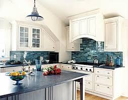 photos of backsplashes in kitchens choosing and combining countertops and backsplashes blue